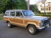 1989 Jeep Wagoneer Grand Wagoneer luxury